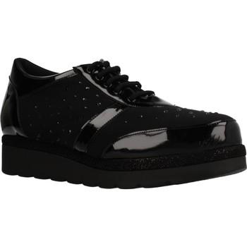 Schuhe Damen Sneaker Low Trimas Menorca 92300 Schwarz