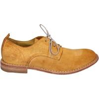 Schuhe Damen Derby-Schuhe Moma BR959 gelb