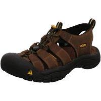 Schuhe Herren Sportliche Sandalen Keen Offene 1001870 NEWPORT M braun