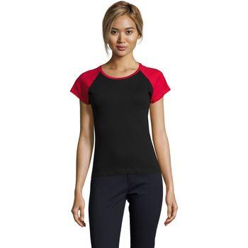 Kleidung Damen T-Shirts Sols MILKY BICOLOR SPORT Multicolor