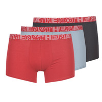 Unterwäsche Herren Boxer Athena BASIC COLOR Schwarz / Bordeaux / Grau