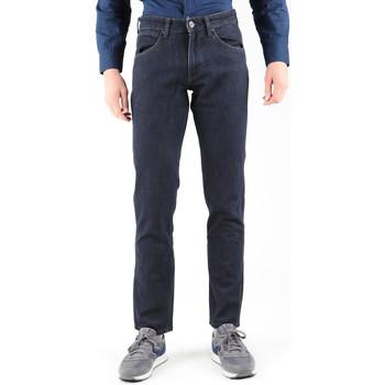 Kleidung Herren Straight Leg Jeans Wrangler Jeanshose  Greensborg W15QBR77S schwarzgrau