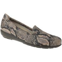 Schuhe Damen Slipper Natural Feet Mokassin Matilda Farbe: beige beige