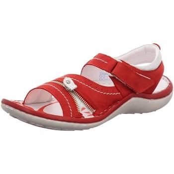 Schuhe Damen Sandalen / Sandaletten Krisbut Sandaletten Bequeme Sandalette 2118-6-1 rot