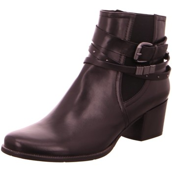 Schuhe Damen Stiefel Regarde Le Ciel Stiefeletten Isabel 26-2695 schwarz