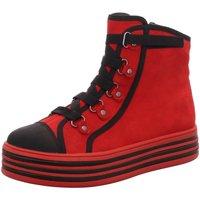 Schuhe Damen Stiefel Tizian Stiefeletten T30508-VL866401 rot