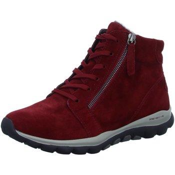 Schuhe Damen Stiefel Rollingsoft By Gabor Stiefeletten rot