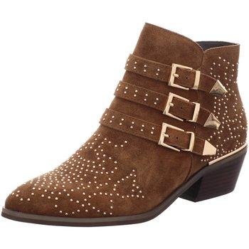 Schuhe Damen Stiefel Vizgar Stiefeletten 251 braun