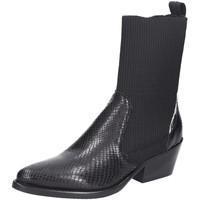 Schuhe Damen Stiefel Donna Carolina Stiefeletten 40.199.100 schwarz