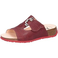 Schuhe Damen Hausschuhe Think Pantoletten Mizzi rot