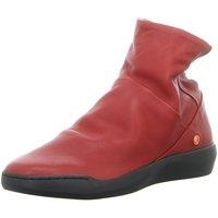 Schuhe Damen Stiefel Softinos Stiefeletten P900550002 rot