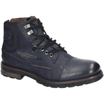 Schuhe Herren Boots Bugatti 321612331514-4141 8 blau