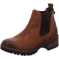 Schuhe Damen Stiefel Black Stiefeletten 264547000/456 braun