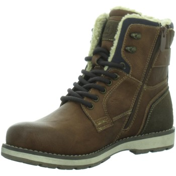 Schuhe Herren Stiefel Montega 7911807,cognac 7911807 00205 braun
