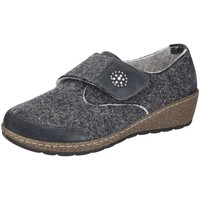 Schuhe Damen Slipper Florett Slipper Rosalyn H-Weite 07752-61 grau