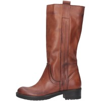 Schuhe Damen Low Boots Bage Made In Italy 140 NERO PELLE Leder