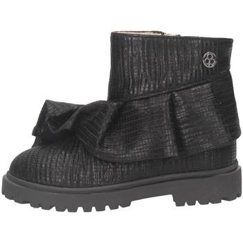 Schuhe Mädchen Low Boots Florens E723255Z Stiefeletten Kind schwarz schwarz