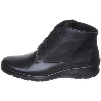 Schuhe Damen Boots Semler Stiefeletten SOFT-NAPPA X10156012 001 schwarz