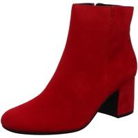 Schuhe Damen Stiefel Paul Green Stiefeletten 8997-125 rot