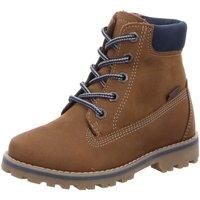 Schuhe Jungen Boots Vado Schnuerstiefel MILAN 85201-210 braun