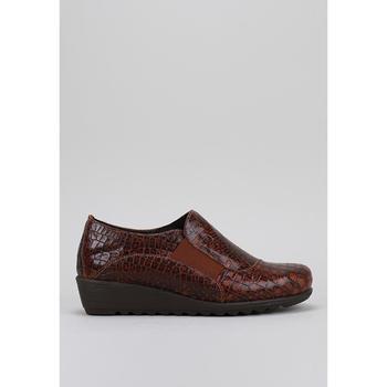 Schuhe Damen Slipper Amanda  Braun
