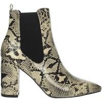 Schuhe Damen Low Boots Shop Art 20575C Beige