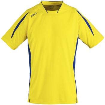 Kleidung Herren T-Shirts Sols MARACANA 2 SSL SPORT Amarillo