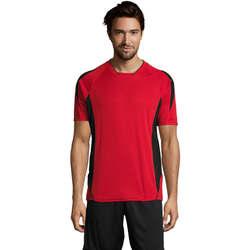 Kleidung Herren T-Shirts Sols MARACANA 2 SSL SPORT Rojo