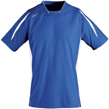 Kleidung Herren T-Shirts Sols MARACANA 2 SSL SPORT Azul