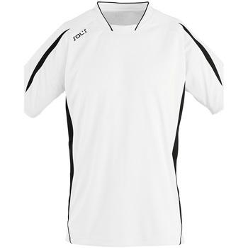 Kleidung Herren T-Shirts Sols MARACANA 2 SSL SPORT Blanco