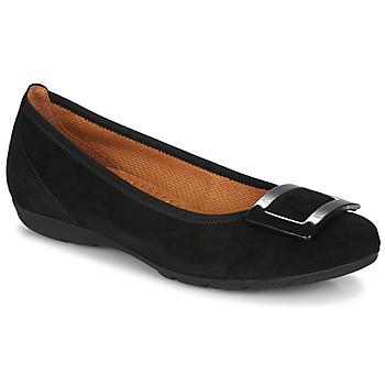 Schuhe Damen Ballerinas Gabor KITITPI Schwarz