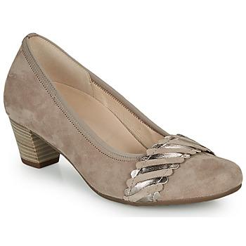 Schuhe Damen Pumps Gabor KEBAME Beige