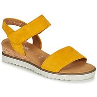 Schuhe Damen Sandalen / Sandaletten Gabor KARIBITOU Gelb