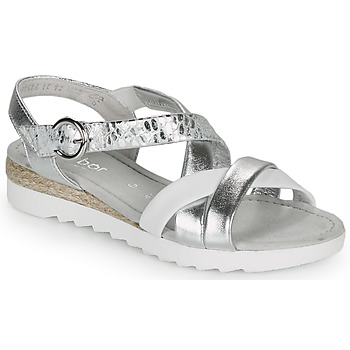 Schuhe Damen Sandalen / Sandaletten Gabor KRIZI Silbern