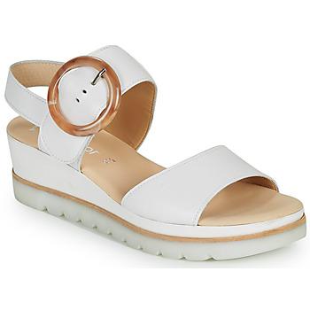 Schuhe Damen Sandalen / Sandaletten Gabor KOKREM Weiss