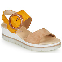 Schuhe Damen Sandalen / Sandaletten Gabor KOKREM Beige / Gelb