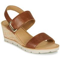 Schuhe Damen Sandalen / Sandaletten Gabor KERILA Cognac