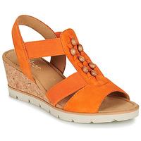Schuhe Damen Sandalen / Sandaletten Gabor KALINA Orange