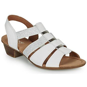 Schuhe Damen Sandalen / Sandaletten Gabor KEIJA Weiss