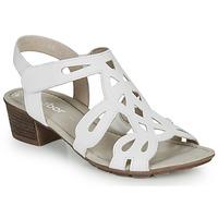 Schuhe Damen Sandalen / Sandaletten Gabor KELELE Weiss