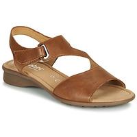 Schuhe Damen Sandalen / Sandaletten Gabor KESTE Cognac