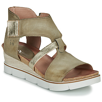 Schuhe Damen Sandalen / Sandaletten Dream in Green LIRATIMO Kaki