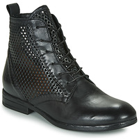 Schuhe Damen Boots Dream in Green MARLO Schwarz