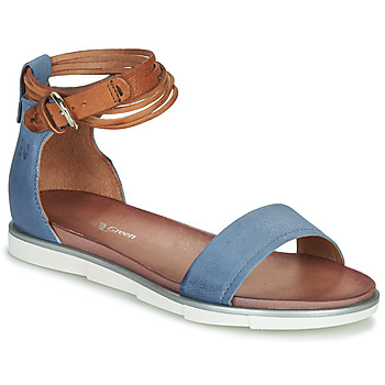 Schuhe Damen Sandalen / Sandaletten Dream in Green IRVANI Blau