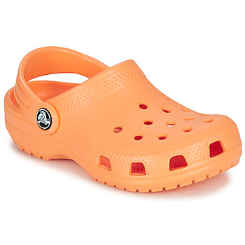 Schuhe Kinder Pantoletten / Clogs Crocs CLASSIC CLOG K Orange