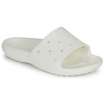 Schuhe Pantoletten Crocs CLASSIC CROCS SLIDE Weiss