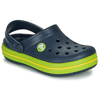 Schuhe Kinder Pantoletten / Clogs Crocs CROCBAND CLOG K Marine / Grün