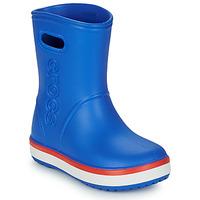 Schuhe Kinder Gummistiefel Crocs Crocband Rain Boot K Blau / Rot