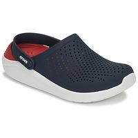 Schuhe Pantoletten / Clogs Crocs LITERIDE CLOG Marine / Rot