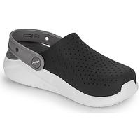 Schuhe Kinder Pantoletten / Clogs Crocs LITERIDE CLOG K Schwarz / Weiss